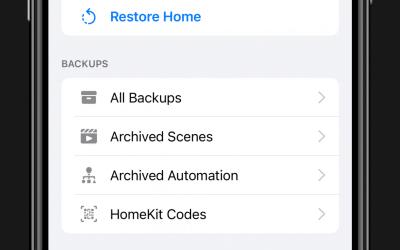 HomeKit backup app Apple should have made